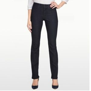 NYDJ Lightweight Denim Billie Mini Bootcut Jeans